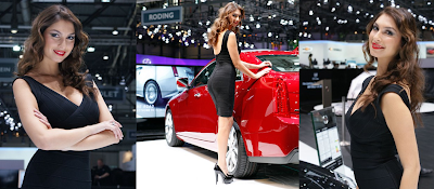 Lovely Face of 2012 Geneva Motor Show