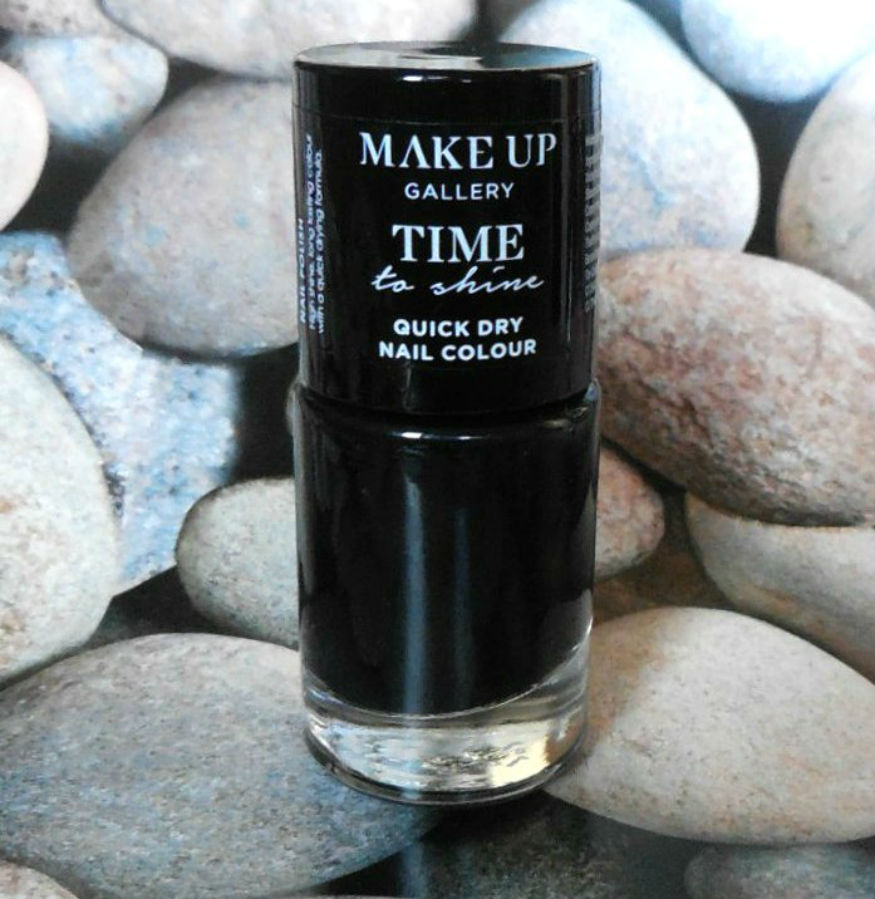 Poundland Makeup Gallery Time to Shine in Midnight Black