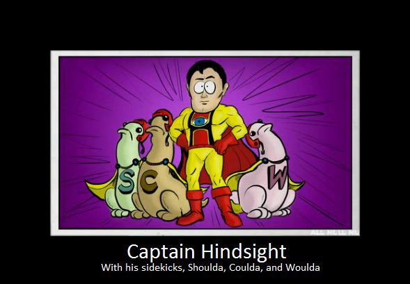 Captain hindsight of the internet