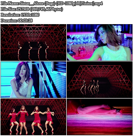 Sistar - Alone (Bugs Full HD 1080p)