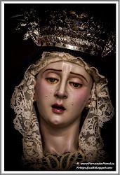 María Santísima del Consuelo vestida de Luto