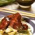 Receta de alas de pollo con salsa de ostión