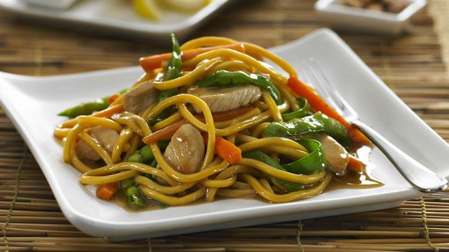 My Recipe Blog-Book: Honey Soy & Ginger Chicken Noodle Stir Fry