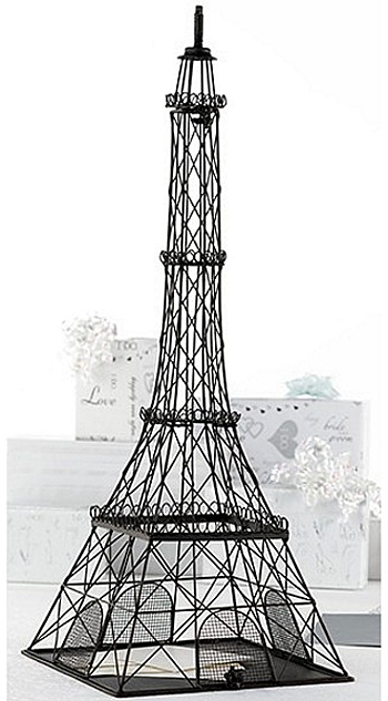 Parisian Eiffel Tower Card Box