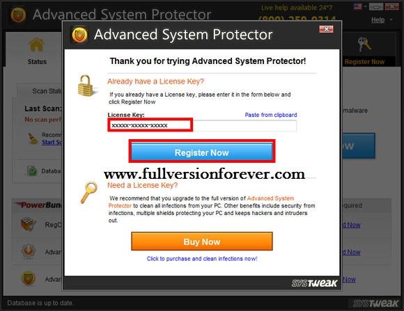 Ключ для system protector
