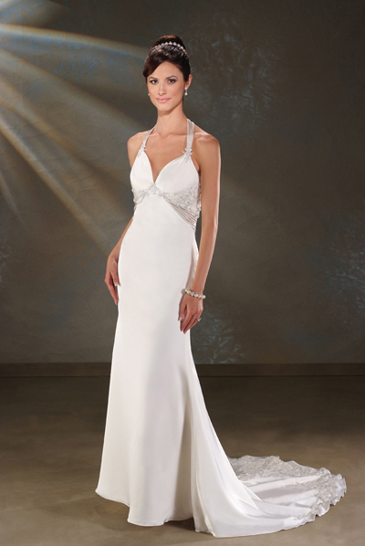 Wedding clothes collection white strapless gowns for Plain white wedding dress