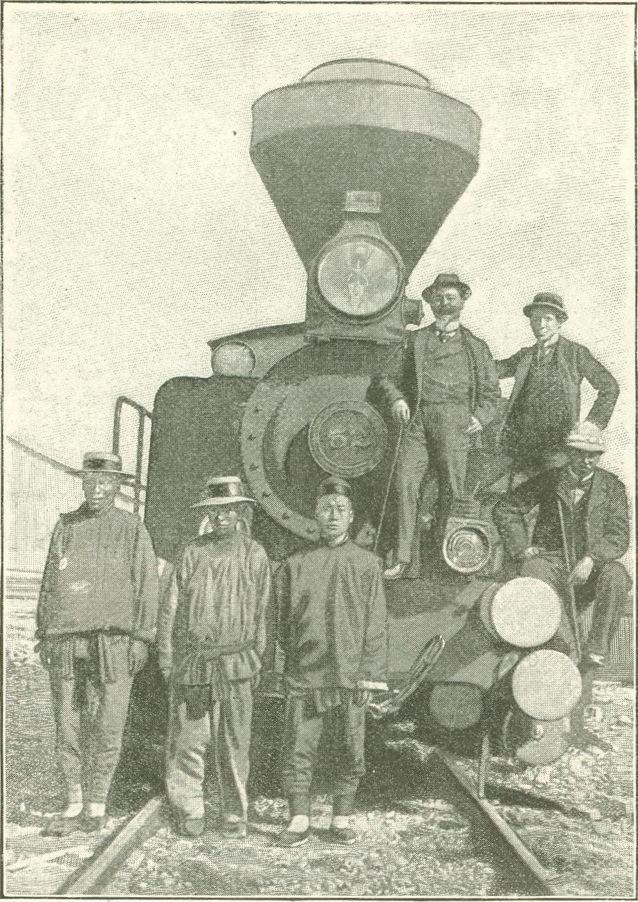 San Francisco Chinese Immigrant Railroad Workers in 1880s