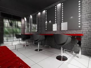 arj 8 Kuaför dekorasyon modelleri