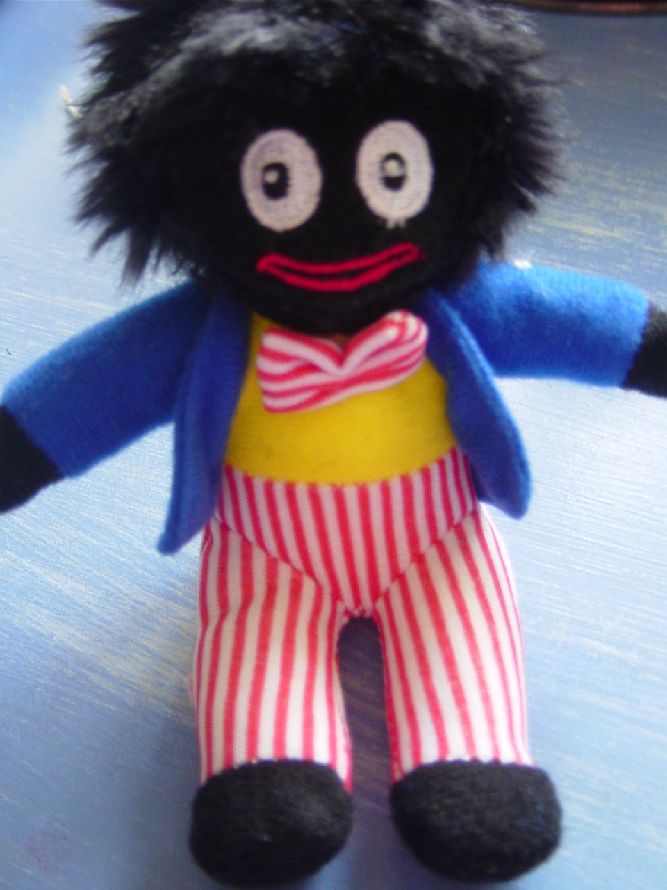 Knitted Golliwog Pattern : Flushed with Rosy Colour: February 2010