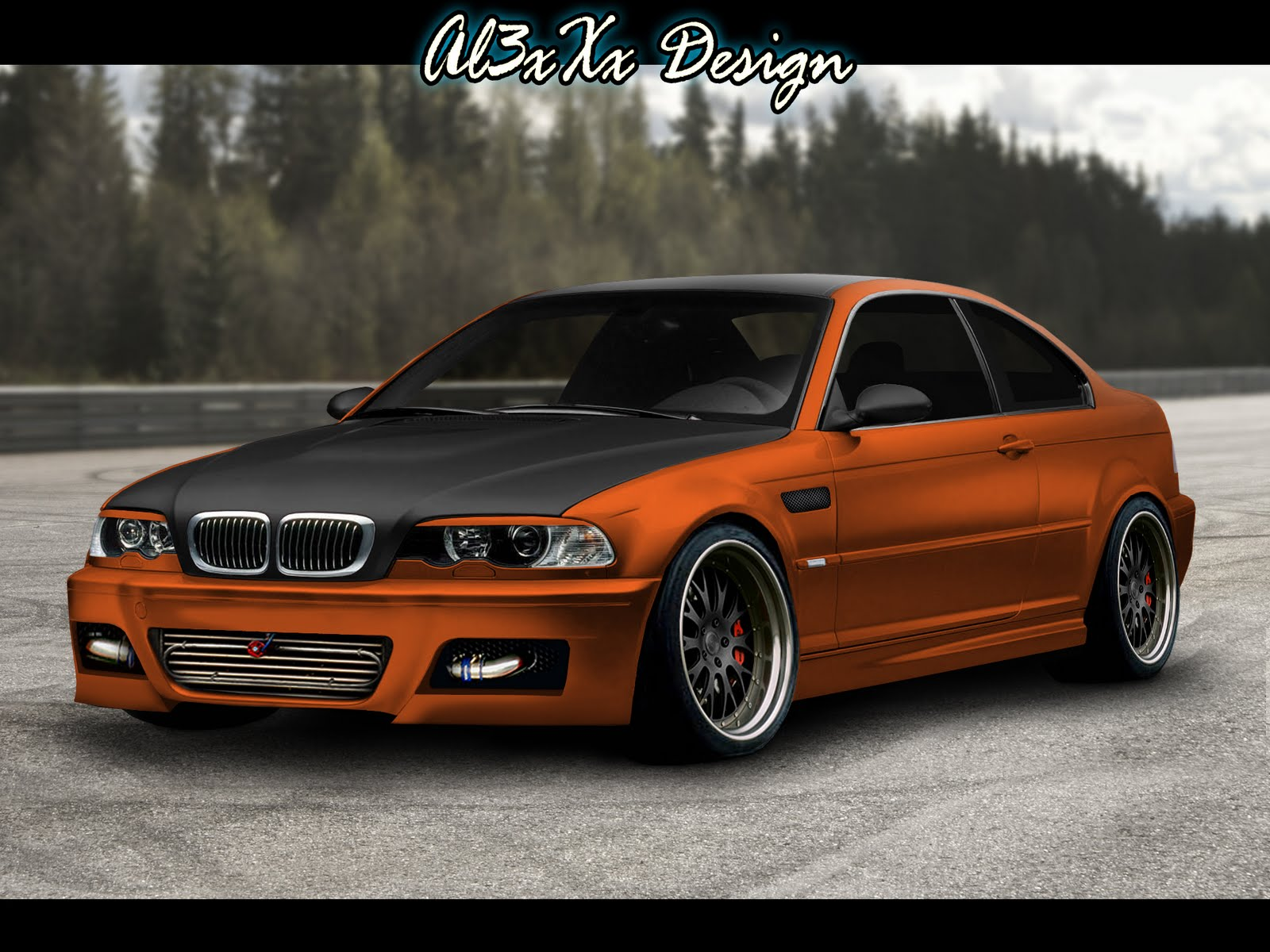 al3xxx design bmw e46 coupe virtual tuning contest. Black Bedroom Furniture Sets. Home Design Ideas