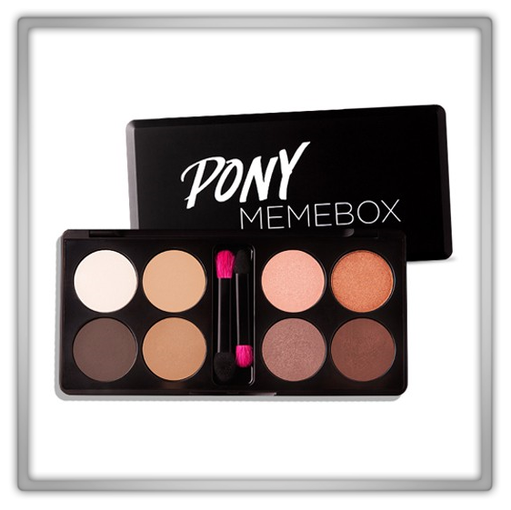 memebox 미미박스 Commercial sale makeup discount usa only korean youtube beauty blogger makeup artist shine easy glam eye shadow Pony X Memebox Eyeshadow Palette preview