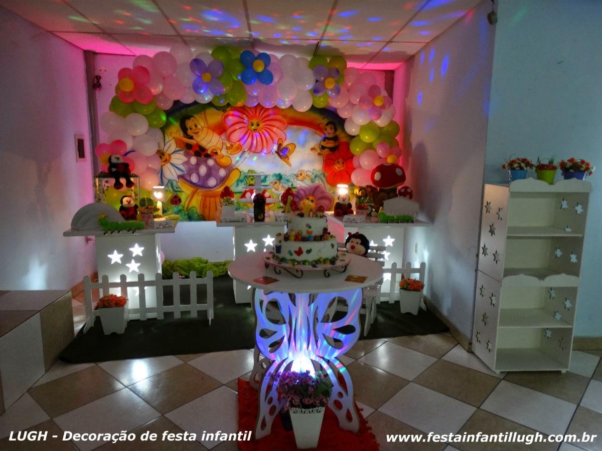 decoracao de aniversario tema jardim encantado:Jardim encantado – tema para mesa de aniversário infantil em