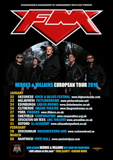 FM Heroes & Villains European Tour 2016 poster