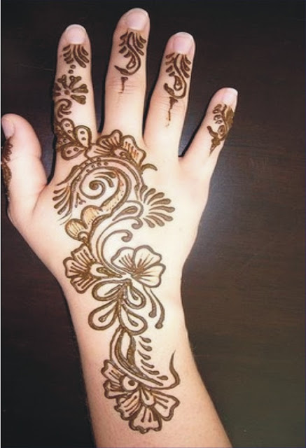 Mehndi Designs Easy : Mehndi designs for hands simple