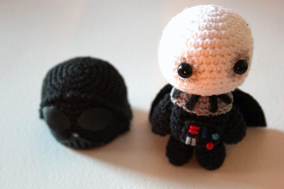 Schemi Amigurumi Star Wars : ArtesanDroides: Amigurumi Darth Vader