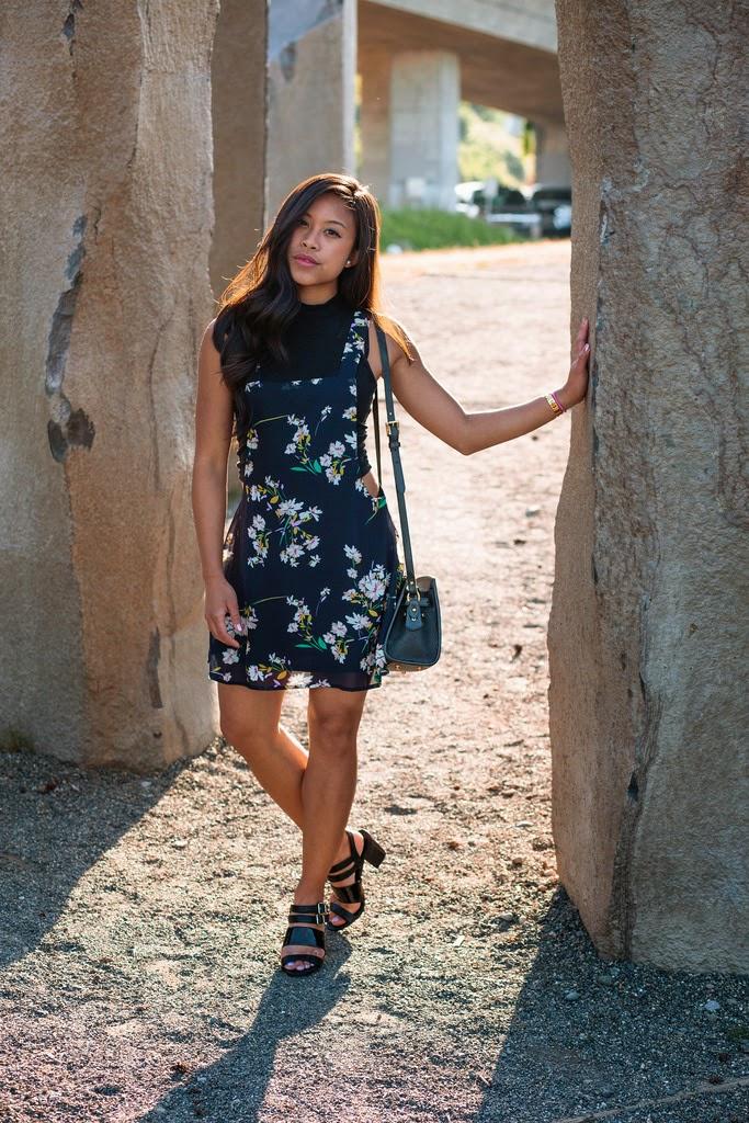 The Floral Jumper Dress
