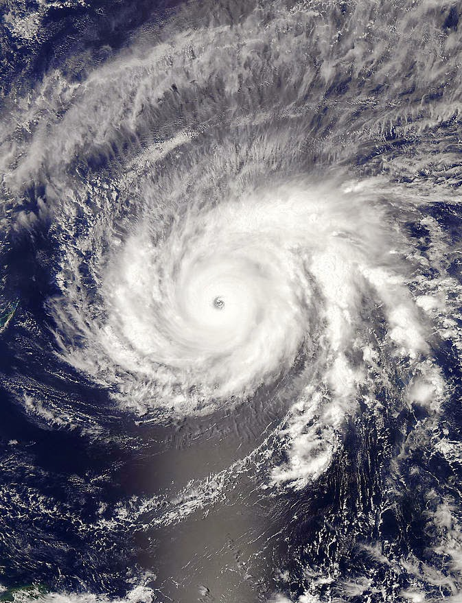 satellite image super typhoon chedeng or Typhoon Maysak