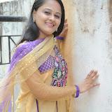 Usha Photos in Salwar Kameez at Gundello Guchi Guchi Champake Movie Press Meet 4