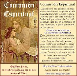 La Comunión espiritual (PINCHA SOBRE LA IMAGEN E IMPRIME TU ESTAMPA)