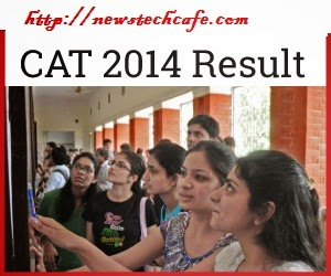 CAT 2014 Result Announced Today on 27,december 2014 evening