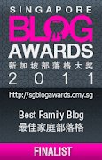 Best Family Blog finalist