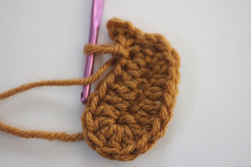 Crochet Reindeer Applique Pattern Repeat Crafter Me
