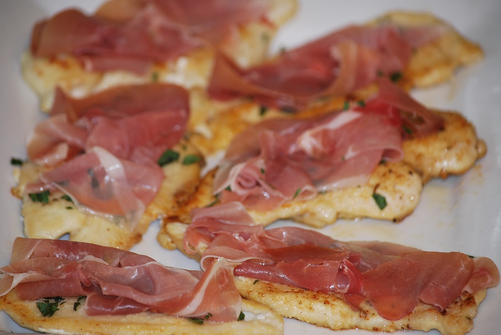 My story in recipes: Chicken Saltimbocca