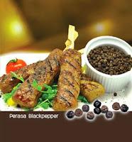 Sate Kebab Lada Hitam