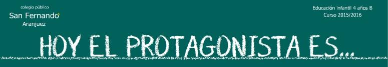 HOY SOY EL PROTAGONISTA