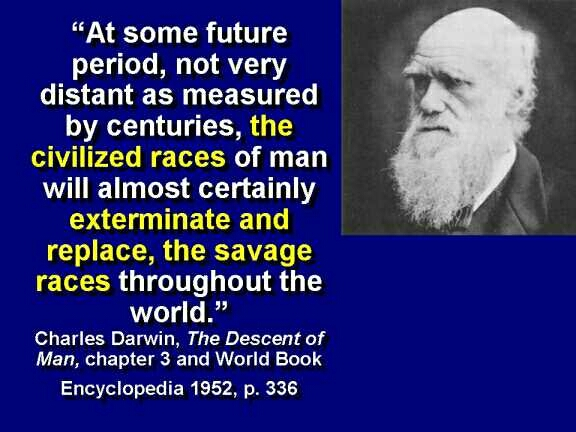 Darwin, the Exterminator