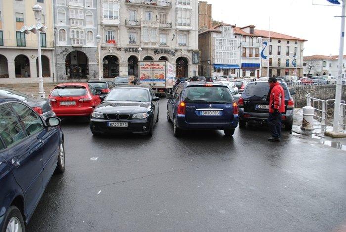 parking de la darsena de Castro Urdiales