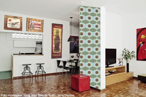 Blog vera moraes decora o adesivos azulejos for Como colocar azulejo