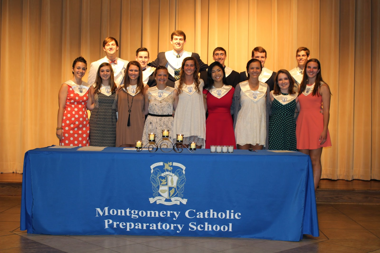 Montgomery Catholic Inducts New NHS Members and Honors Senior Members 2