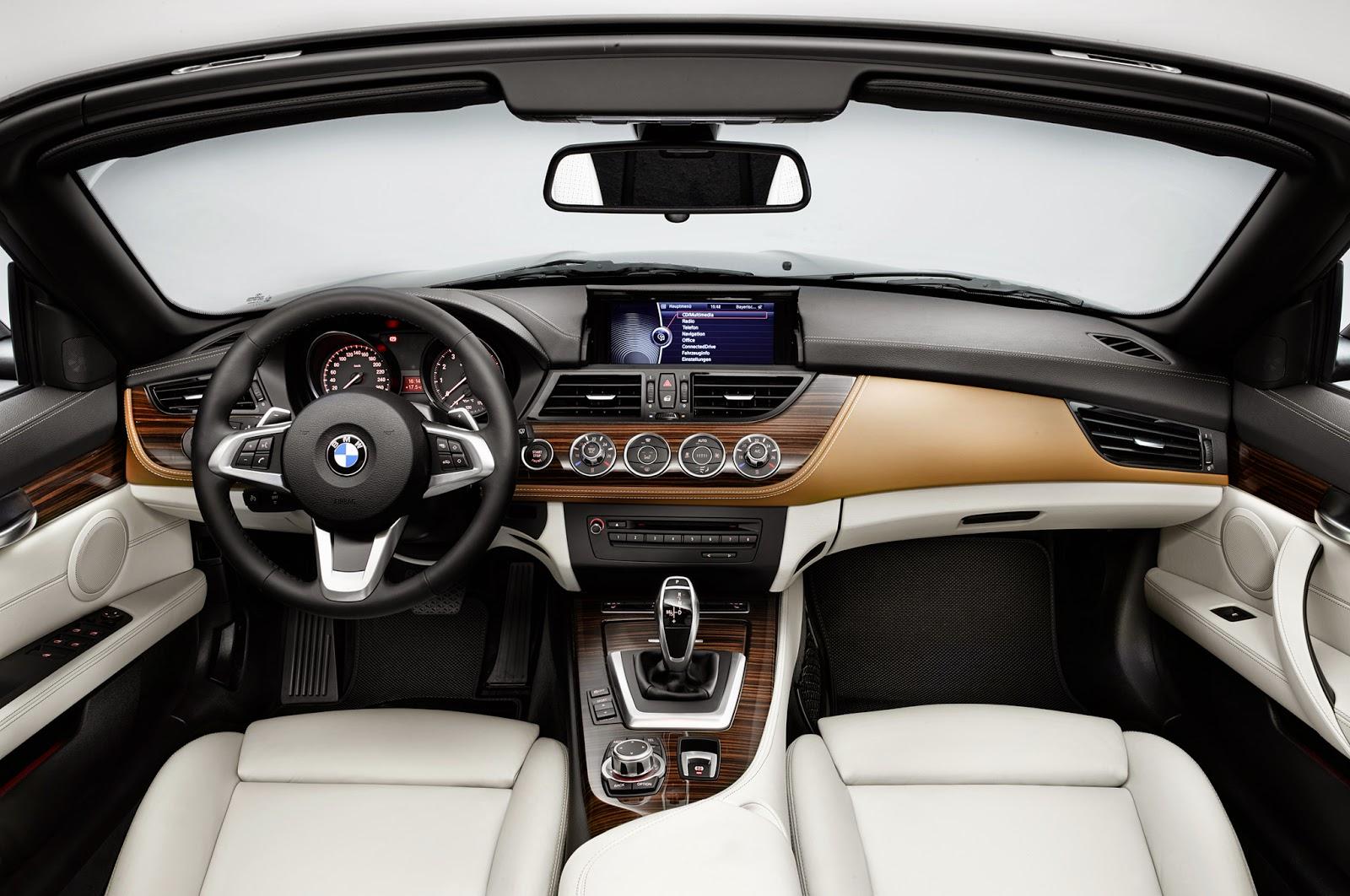2016 BMW Z4 Interior specs