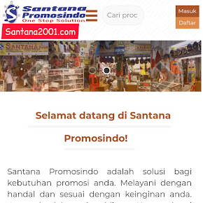 Klik Toko Online : Santana2001.com