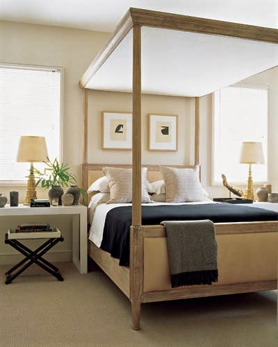 Tailored And Elegant Bedroom By Houston Designer J Randall Powers