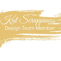 I PROUDLY DESIGN FOR KAT SCRAPPINESS