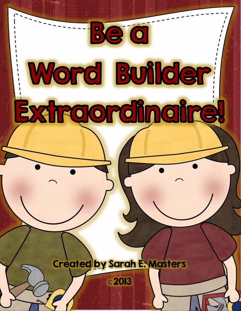 http://www.teacherspayteachers.com/Product/Word-Work-Be-a-Word-Builder-Extraordinaire-Literacy-Center-Activity-1070859