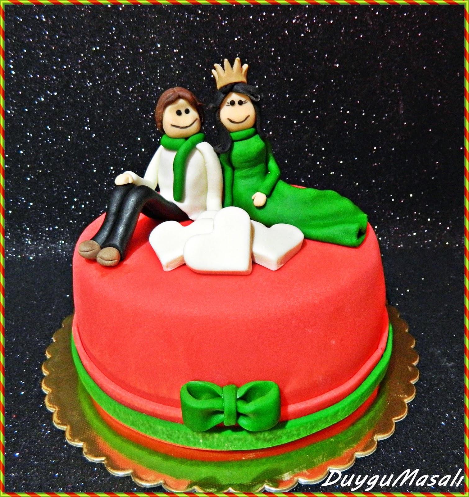 edirne yıl dönümü butik pasta