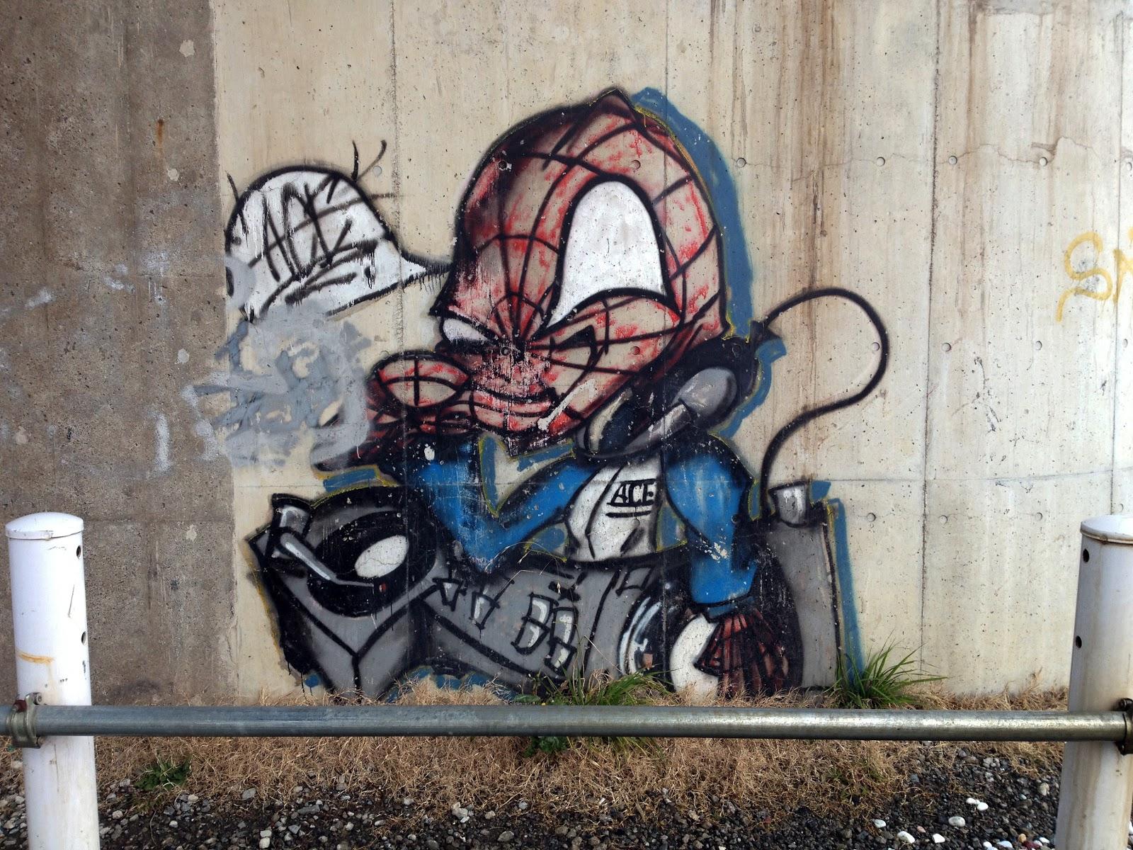 Graffiti wall tokyo - Graffiti Art From Nyc Streets To Tokyo Bridges