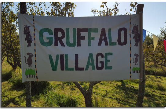 HFT is a national charity supporting people with learning disabilities and their families and one of the ways in which they raise money is through fund raising and hence the Gruffalo Adventure was born.