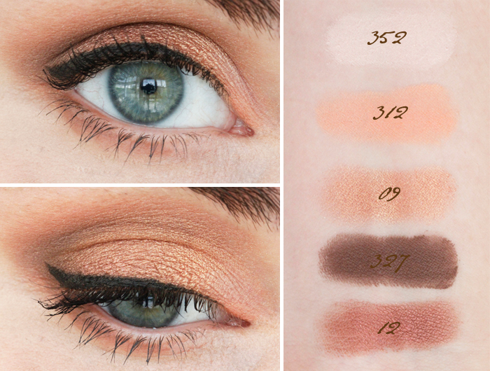 Inglot: Warm Eyeshadow Tones + HD Perfect Coverup Foundation