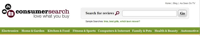 Reviews at ConsumerSearch.com