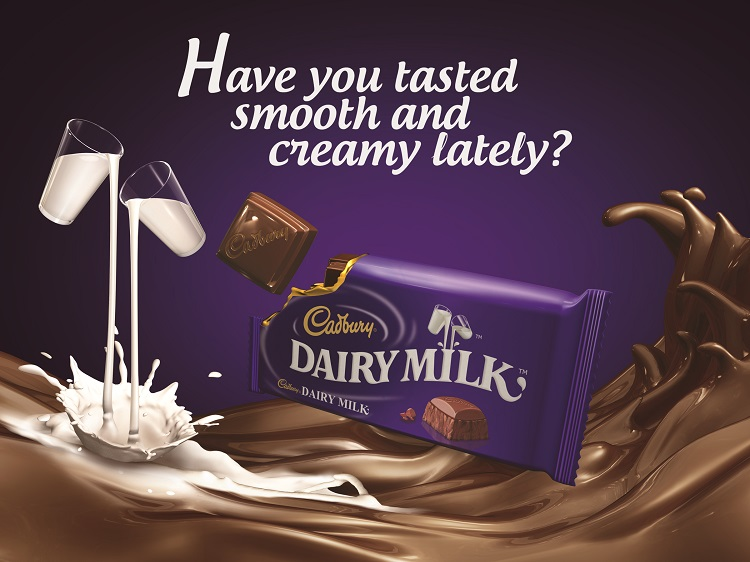 "Cadbury Dairy Milk's ""Creamy Chocolate Fountain"""
