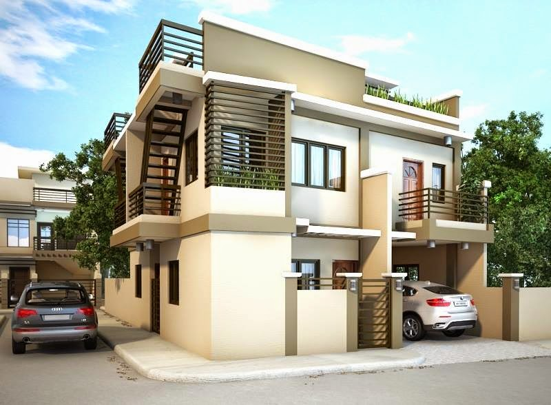 33 beautiful 2 storey house photos for Exterior design of 2 storey house