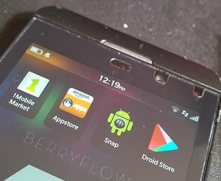 Droid Store - A native client application 'Google Play' on BB10