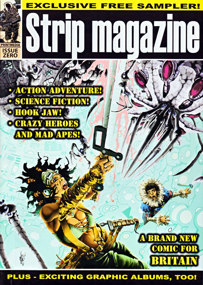 Blimey! It's another blog about comics!: Can Strip Magazine revive ...