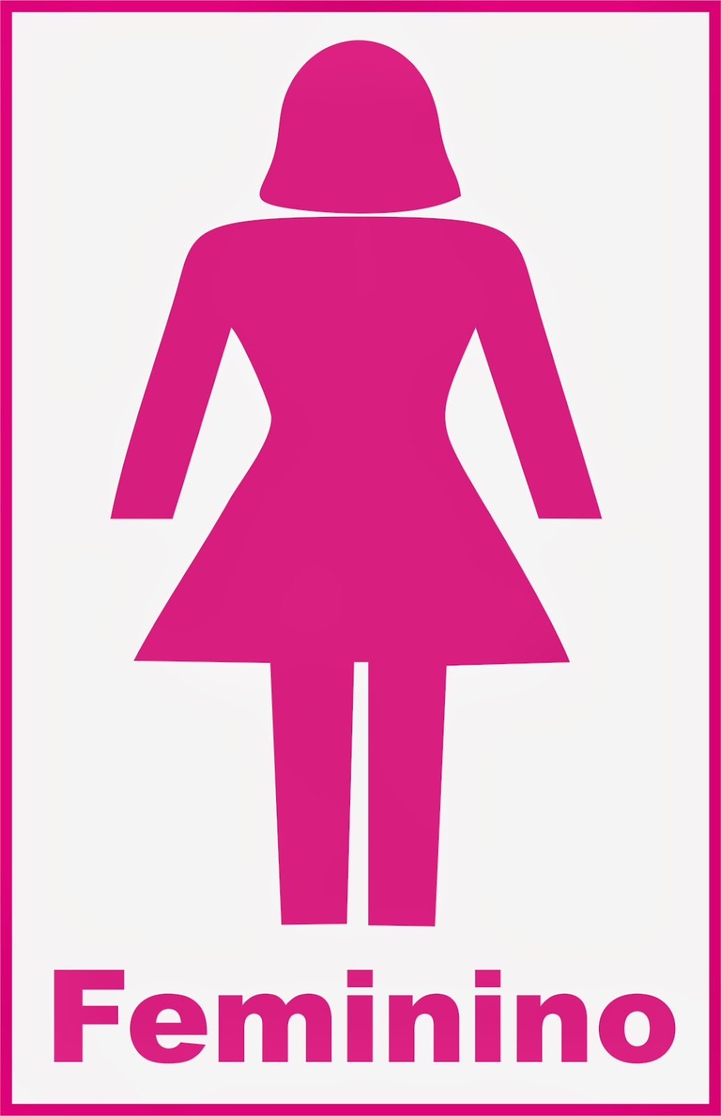 placa banheiro feminino -> Banheiro Feminino Placa