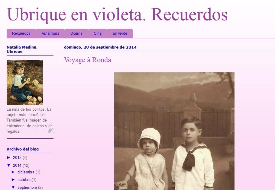 Ubrique en violeta