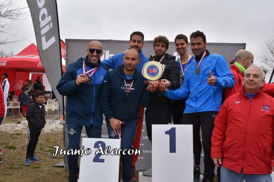 Campeones Regionales de Cross Máster (Yebes 2019)
